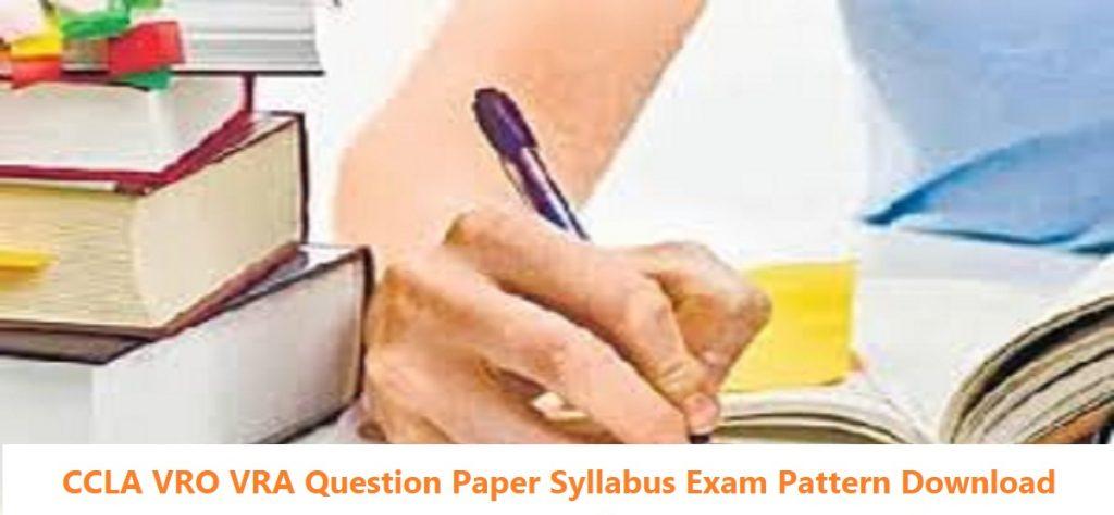 Telangana VRO VRA Syllabus Question 2020 Exam Pattern