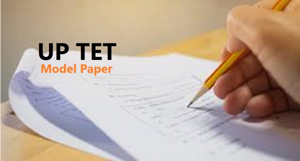 UP TET Model Paper 2020 UP TET Important Previous Question 2020